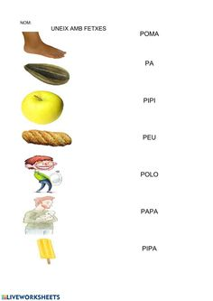 Fitxa P 3 - Ficha interactiva Catalan Language, School Subjects, Google Classroom, Valencia, Your Teacher, Colorful Backgrounds, Worksheets, Nom Nom, Homeschool