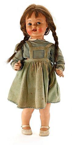 Muñeca Raynal en celuloide, hacia 1940