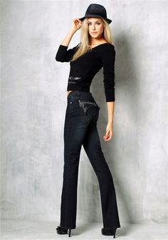 Arizona Langarmshirt im Online Shop von Ackermann Versand Shops, Arizona, Leather Pants, Shopping, Fashion, Leather Jogger Pants, Moda, Tents, Fashion Styles