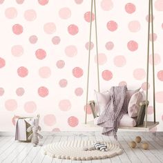 This eco-friendly GranDeco Little Ones Eco Clouds and Moon Wallpaper features clouds, raindrops, moons and stars in pink and purple on a white background View Wallpaper, Star Wallpaper, Home Wallpaper, Nursery Wallpaper, Beautiful Wallpaper, Wallpaper Ideas, Diy Tapete, Playroom Furniture, Comfortable Pillows