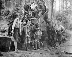 The Nazis outlawed hiking, then they turned it into a Hitler Youth travesty Fantasy World, Mount Rushmore, Germany, Youth, Hiking, History, Vintage, Timeline, Trousers