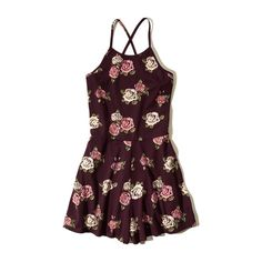 Girls Hollister Lucy Hale Romper ($25) ❤ liked on Polyvore featuring dresses, romper and jumpsuits