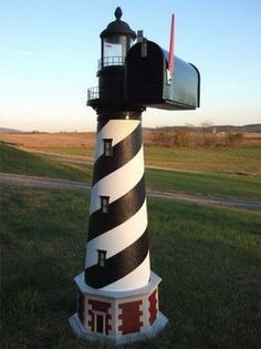 *Lighthouse mailbox