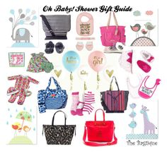 """""""Oh Baby! Shower Gifts"""" by thebagtique on Polyvore featuring Bagtique, Marc by Marc Jacobs, Kate Spade, Juicy Couture and Vera Bradley"""