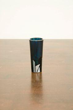 Funky Shot Glass by AddlepatedPainter on Etsy