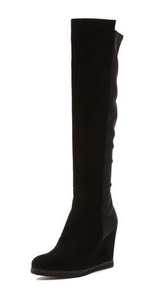 3a898751c04 Stuart Weitzman Demiswoon Over the Knee Boot Size 9  StuartWeitzman  wedge   overtheknee Black