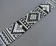 bead loom bracelet by sherry leger