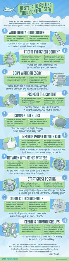 Blogging Tips 10 Steps to Generate a Ridiculous Amount of Blog Traffic
