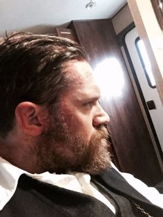 To celebrate the return of Peaky Blinders and Alfie Solomons for Series 4 later this year, behind the scenes -Tom as Alfie