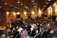L'audience nella Aula Magna Giovanni Paolo II