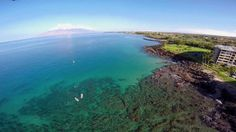 DJI Phantom FPV with GoPro - South Kihei, Maui, Hawaii