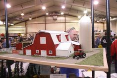 Scratch built barn by J.Krieser