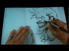 ▶ Jim Lee - Joker sketch demo - YouTube