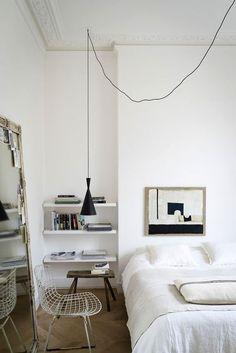 black and white neutral decor via jj locations. / sfgirlbybay