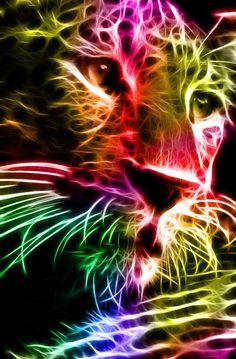 animal fractals | Stunning Fractals Animal Port Portraits – DesignSwan.com