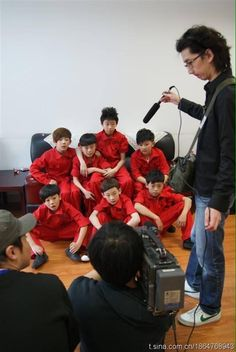 the8 seventeen predebut   does anyone know what they're doing?