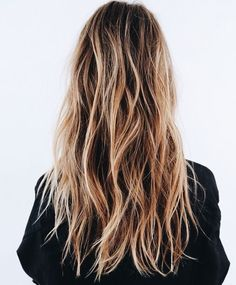 Tousled waves.
