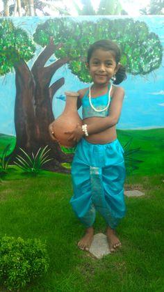 Dhothi & blouse