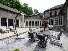Terrace in Whitchurch - Stouffville, Ontario