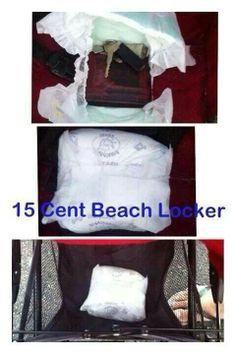 Beach locker - life hack