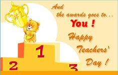 Latest Happy Teachers Day Greeting Cards Images Wallpapers Pictures Pics Photos 2015
