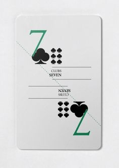 Creative Layout, Ugmonk, Typography, and Cards image ideas & inspiration on Designspiration Playing Cards Art, Playing Card Games, Playing Card Design, Game Design, Web Design, Play Your Cards Right, Bussiness Card, Poster Art, Design Graphique