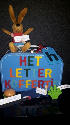 Het letterkoffertje mee naar huis? Ja, natuurlijk! Samen zoeken naar spulletjes met de beginletter van deze week! Veel plezier met zoeken ☺ Jolly Phonics, Teaching The Alphabet, Teaching First Grade, Marianne, Nursery School, Kindergarten Activities, Primary School, Spelling, Literacy