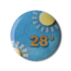 #BBOTD Stereohype #button #badge of the day by Birgit Simons https://www.stereohype.com/431__birgit-simons #28 #sunny