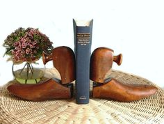 Vintage Wooden Shoe Trees Forms by OakAndCrowSundries on Etsy, $19.95