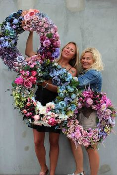 flower wreaths - www.tendom.pl - online shop