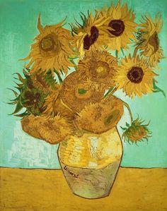 'Sunflowers' by Vincent van Gogh (1888)