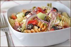 Greek Summer Pasta Salad