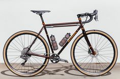This bike, upon first glance, might just seem like a cross bike with some flashy paint and while that is mostly true, the thing that struck me the most about Parker's A-Train all road is the drivetrai...