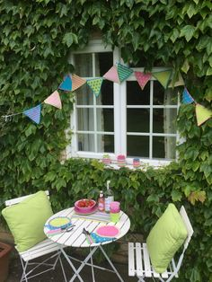Free pattern - Summer Bunting by Just Pootling