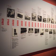 """anusarago: """"Timeline of Eames, their exhibition in Bangkok. Photo Timeline, Timeline Design, History Timeline, Timeline Diagram, Map Diagram, Exhibition Space, Museum Exhibition, Popup, Display Design"""