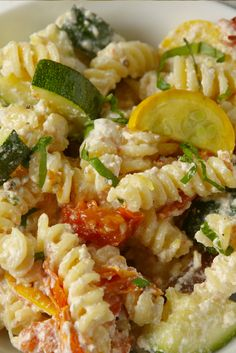 Summer Vegetable Primavera- This simple pasta is the best way to eat your veggies.
