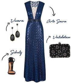 Copie o look: vestido madrinha noite
