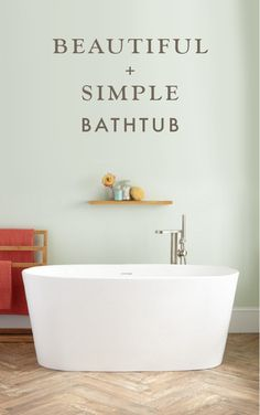 A&E Bath and Shower Retro Pure Acrylic 56 Inch Double Ended ...