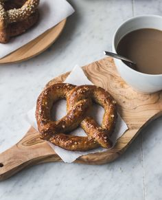 Single-Serving Soft Pretzel - Easy to Make (Recipe at end of instructional set of pictures)