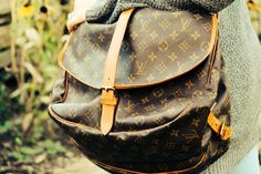 Vintage Louis Vuitton Saddle Bag on I Married a Doctor — Be inspired. Be informed. Be Beautiful.