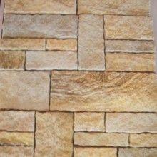 Stone Cladding Dry Stack Sandstone Buff Vizu Textury