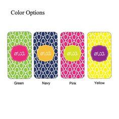 Monogram iPhone case cover