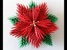 How to make 3D origami Harmony Bowl - YouTube