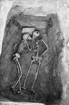 True Love Never Dies Fact// Eternal love True love never Dies. 6000 year old kiss Hasanlu, Iran