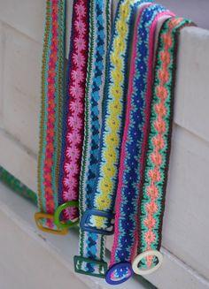 crochet belts by @bonthuishouden