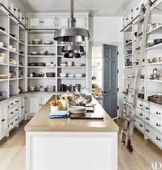 Another shot from our Architectural Digest feature this month. This butler's pantry proves that utility and beauty need not be mutually exclusive.