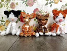 Custom Mini Crochet Cats! These are custom crochet cats that are made to look like your furry friend! Ordering Options There are three simple options for customizations: (1) Send a description of what you would like your crochet cat to look like (colours, size, etc. please fill out the details Main Colors, Colours, Crochet Cats, Cute Messages, Secondary Color, Create Yourself, I Am Awesome, Fill, Miniatures