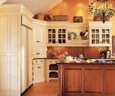 Warm Victorian Kitchen Ideas
