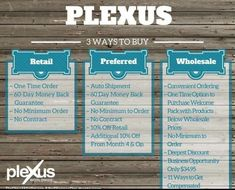 3 ways to buy. Great product. Awesome testimonies. Plexus is all natural. No dyes, preservatives, or fillers. Sound interesting? Email me at tiffanywestplexus@gmail.com