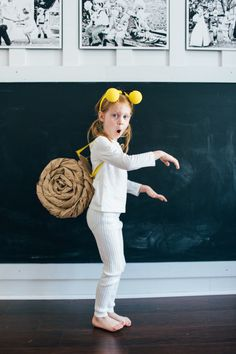 Perri Poppins: DIY Halloween Kids Costumes - Look Linger Love Diy Girls Costumes, Best Diy Halloween Costumes, Unique Costumes, Cool Costumes, Halloween Kids, Adult Costumes, Snail Costume, Kids Dress Up, Diy For Girls